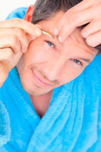 epilation sourcils au masculin blog